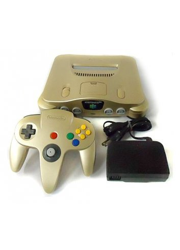 Nintendo 64 Gold -Loose-