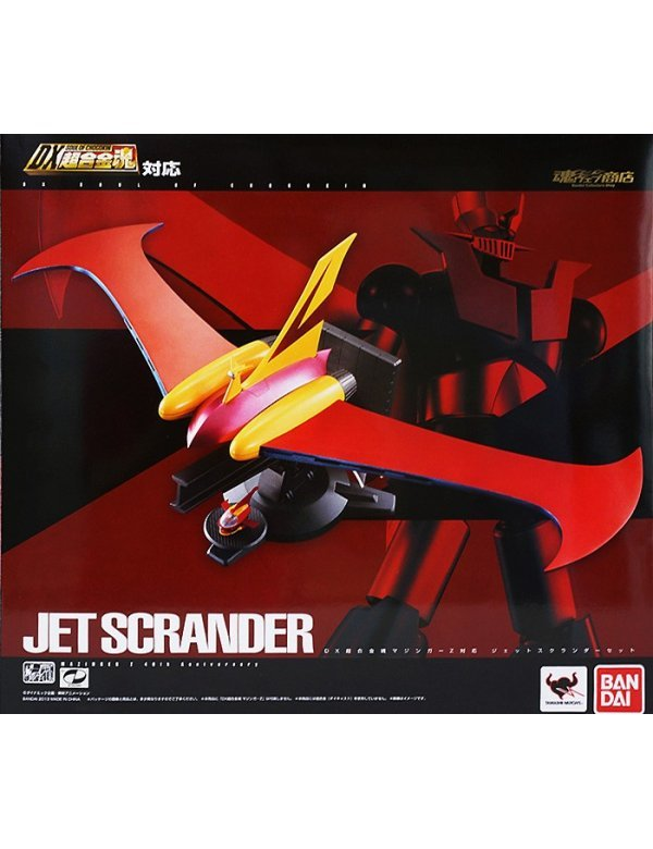 DX Soul of Chogokin - Jet Scrander set for Mazinger Z -