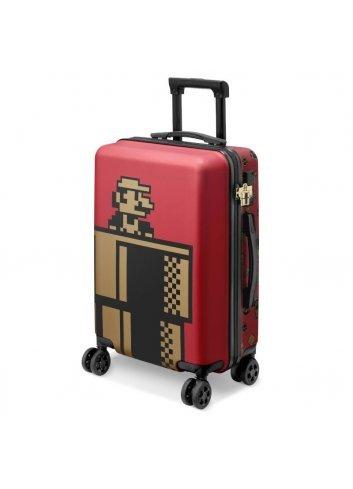 Super Mario Travel Suitcase (Wine Red)
