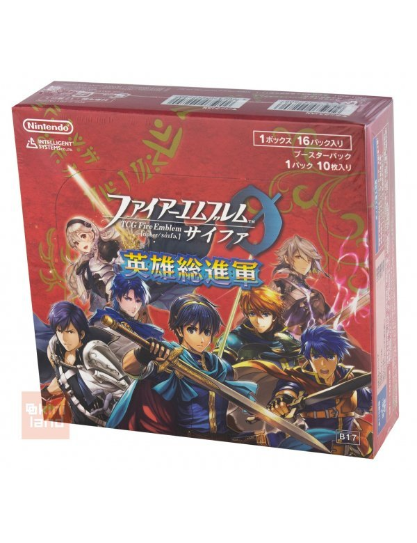 TCG Fire Emblem 0 (cipher) Booster Pack Eiyuu Soushingun (Box 160 cards)