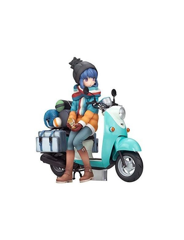 Rin Shima with Scooter