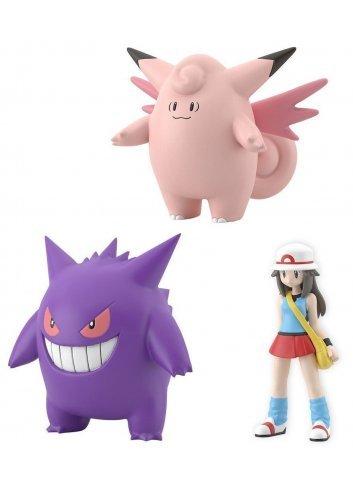 Pokémon Scale World Kanto - Leaf with Pixy / Clefable & Gangar