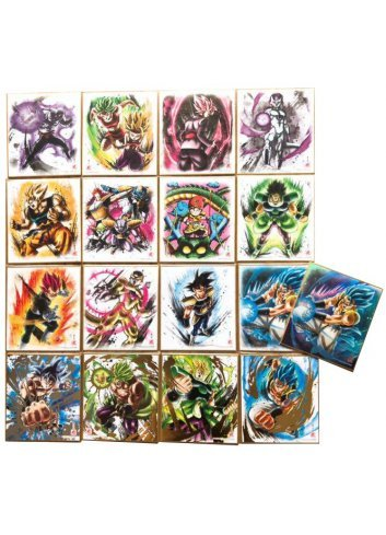 Dragon Ball Shikishi ART 7 (Full set - x17 cards)
