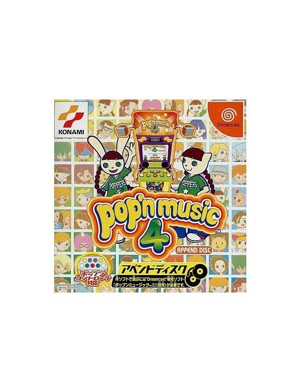 pop'n music 4 - Append Disc