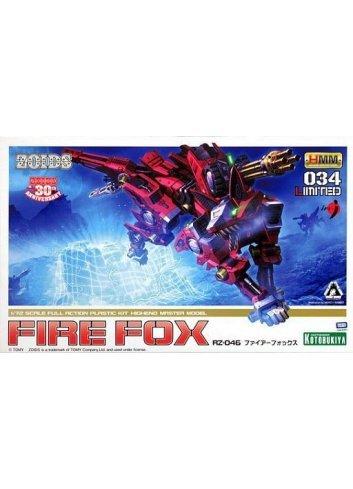 Zoids HMM 034 LIMITED - RZ-046 Fire Fox - Kotobukiya