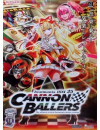 Poster B2 beatmania IIDX 25 CANNON BALLERS