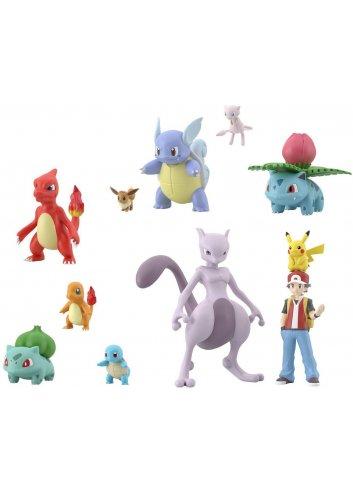 Pokémon Scale World Kanto (11 figurines set)