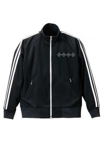 Jacket Dance Dance Revolution (BLACK x WHITE - XL)