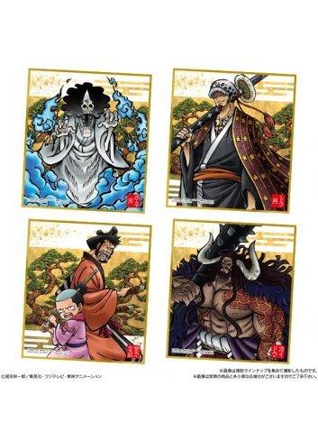 One Piece Shikishi ART -Wano Kuni- (Box x10 cards random)