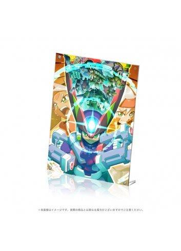 Rockman ZX Advance Acrylic Art