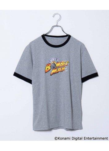 T-shirt Super Bomberman (Trim ver.) (Grey - M~L)