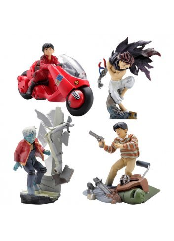 miniQ Akira Part.1 -Kaneda- (set de 4 figurines)