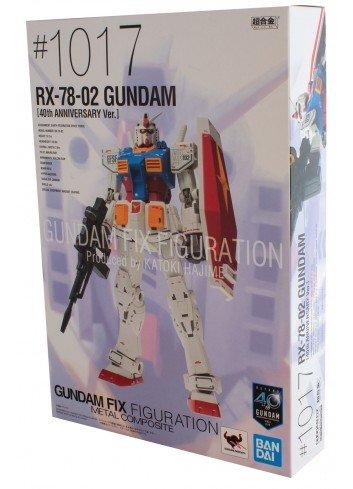 G.F.F. - RX-78-02 Gundam (40th Anniversary Ver.)