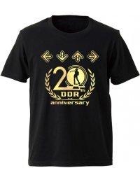 T-shirt DDR 20th anniversary (Black/Gold - XS~XXXL)
