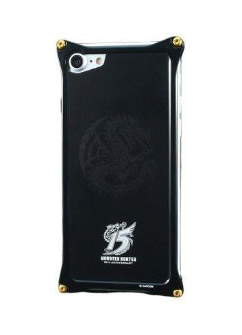 GILD design - Monster Hunter 15th anniv. Solid Bumper + Aluminium Panel for iPhone XR
