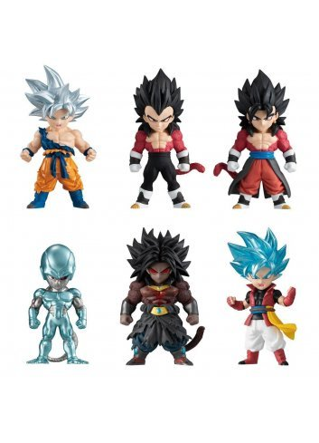 Super Dragon Ball Heroes Adverge 2 (set of 6 figures)