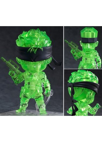 Nendoroid Solid Snake: Stealth Camouflage Ver. - Good Smile Company
