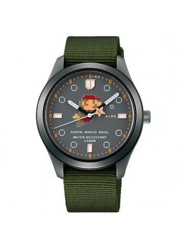 Watch (Qwartz) Super Mario Bros (Black/Navy)