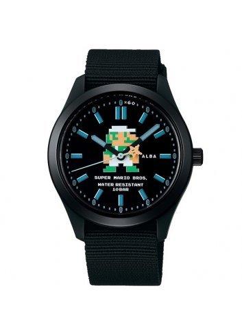 Watch (Qwartz) Super Mario Bros (Black)