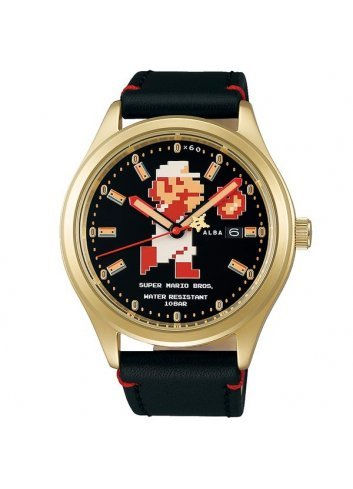 Watch (Mecanic) Super Mario Bros (Gold)