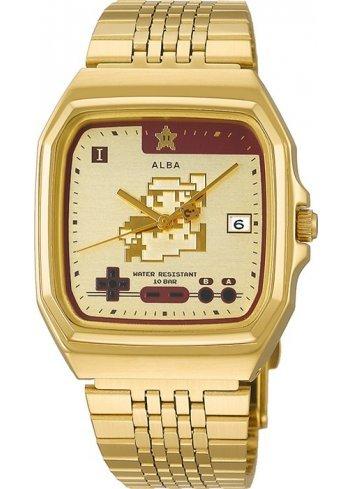 Watch (Qwartz) Super Mario Bros (Gold)