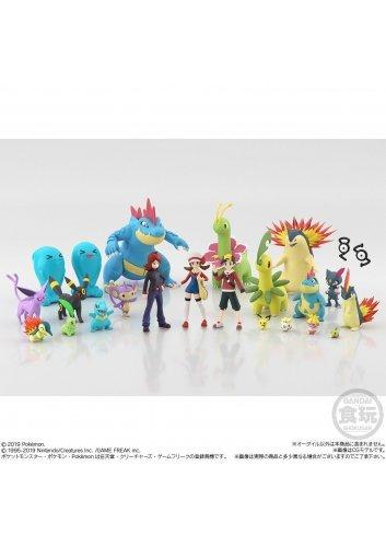 Pokémon Scale World Johto - Ordile / Feraligatr - Bandai