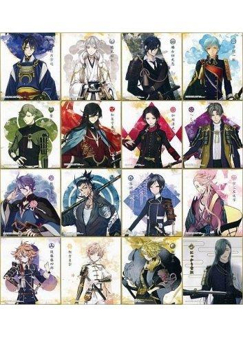 Touken Ranbu Online Shikishi ART 1 - Fullset - Bandai