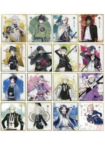 Touken Ranbu Online Shikishi ART 2 - Fullset - Bandai