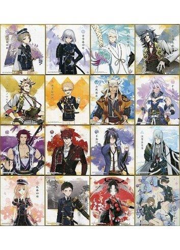 Touken Ranbu Online Shikishi ART 4 - Fullset - Bandai