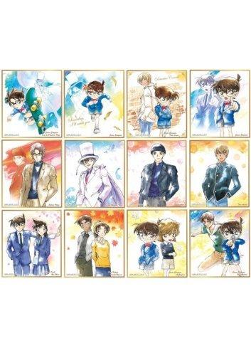 Detective Conan Shikishi ART 1 - Fullset - Bandai