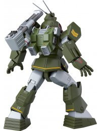 COMBAT ARMORS MAX 18 1/72 Scale Soltic H8 Roundfacer Reinforced Pack Mounted Type - Max Factory