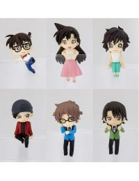 Putitto Series Detective Conan Deformed Ver. 4 (Set of 6 figures) - Kadokawa