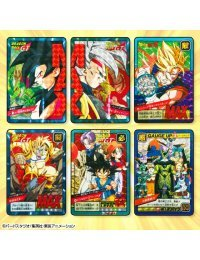 30 cartes set Bandai Carddass Dragon Ball Super Battle Binder set