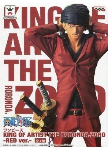 King of Artist The Roronoa Zoro (Red ver.) - Banpresto