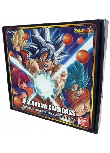 Dragon Ball Carddass vol.37 & 38 Complete Box
