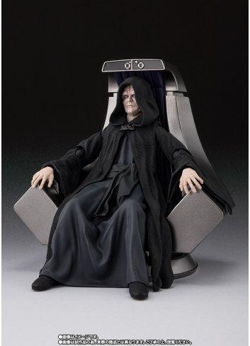 NEW Bandai S.H.Figuarts Emperor Palpatine Death Star II Throne Room Set Japan