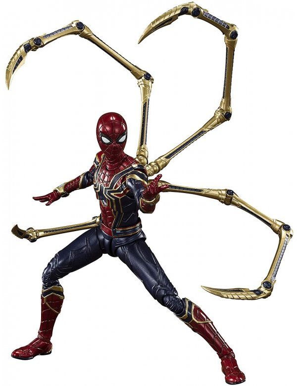 S.H.Figuarts Iron Spider (Final Battle Edition)