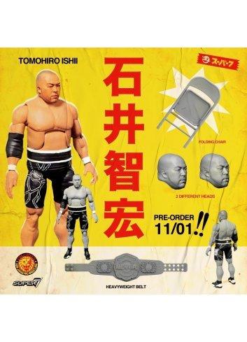 New Japan Pro-Wrestling Tomohiro Ishii - Super 7