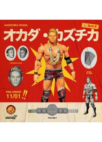 New Japan Pro-Wrestling Kazuchika Okada - Super 7