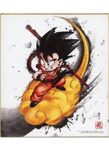 Dragon Ball Shikishi ART - 1. Son Goku (Shonen)