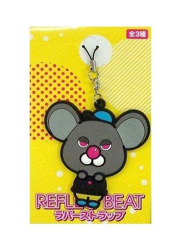 Reflec Beat (Rubber Strap) - Pastel-kun (Black) - Eikoh