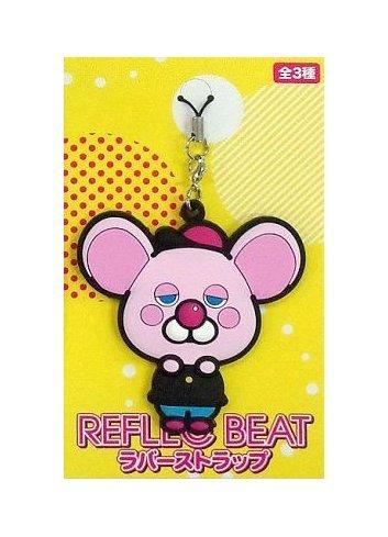 Reflec Beat (Rubber Strap) - Pastel-kun (Pink) - Eikoh