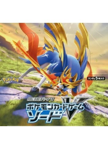 Pokémon Card Game Sword & Shield - Expansion Pack: Sword (Box