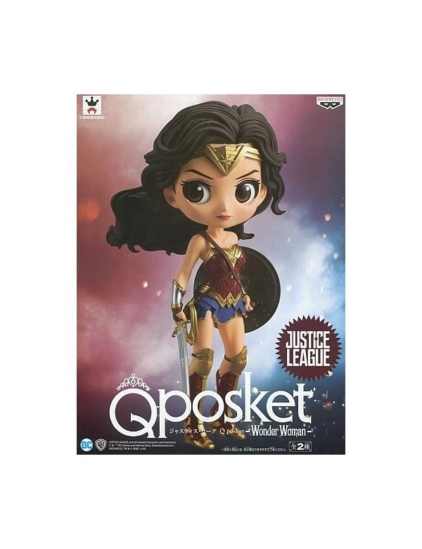 Q Posket Justice League Movie Version Wonder Woman  by Banpresto