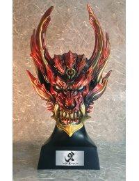 Prop Series Kiba The Dark Knight Head Model Guren Ver. - ArtStorm