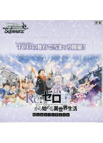 Weiss Schwarz Booster Pack Re:ZERO Memory Snow (Box)