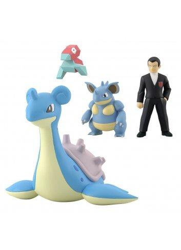 Pokémon Scale World Kanto Sylph Company set