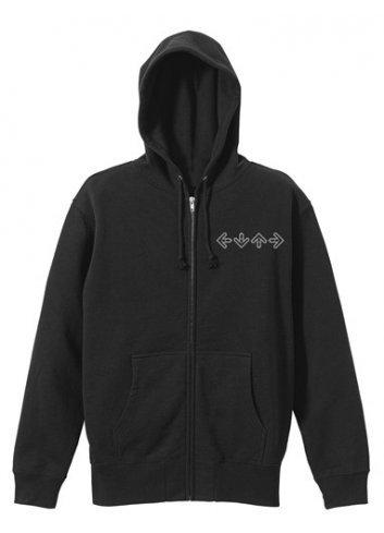 Hooded Jacket Dance Dance Revolution (BLACK - L)