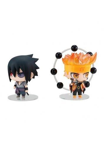 Chimi Mega Buddy Series! Uzumaki Naruto & Uchiha Sasuke Ninkai Taisen Set - Megahouse