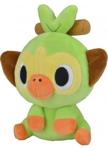 Plush Pokemon Dolls Sarunori (Grookey)